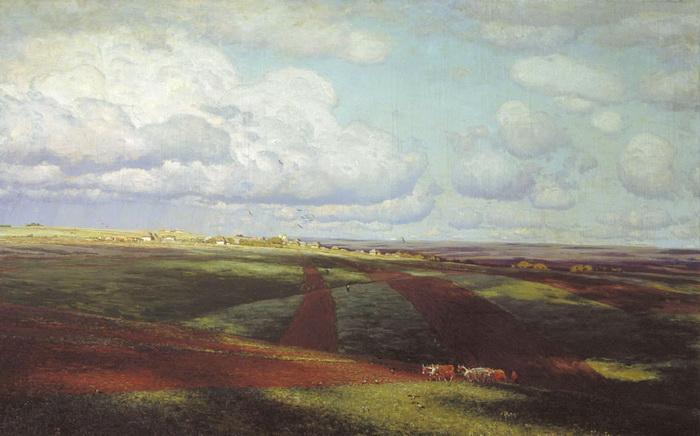 Картина «Родина» принесла Дубовскому славу, а также премию Всемирной выставки в Риме 1911 года
