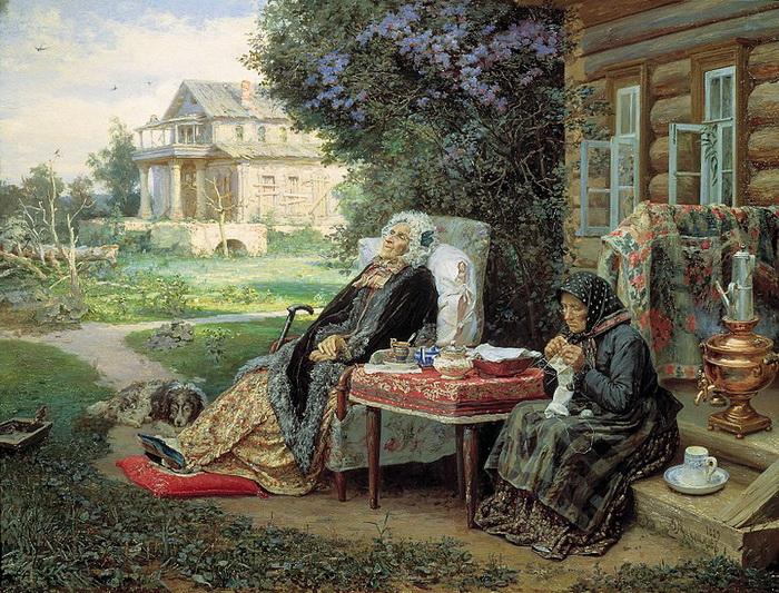 В. Максимов. Все в прошлом