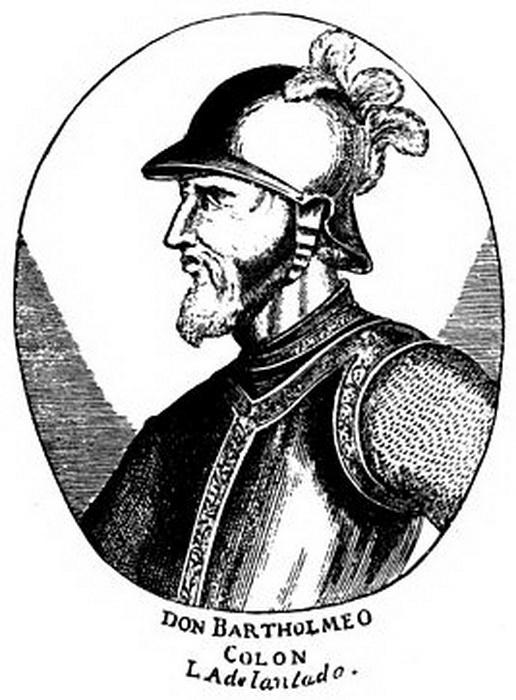 Бартоломео Колумб, отправившийся вслед за братом в его путешествие