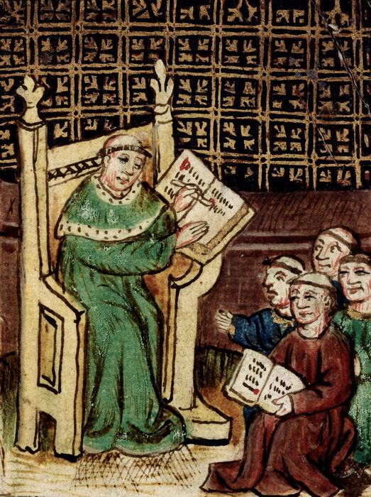 Школа в эпоху Возрождения все еще сохраняла средневековые традиции