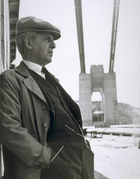 Джозеф Штраус - создатель многих уникальных мостов