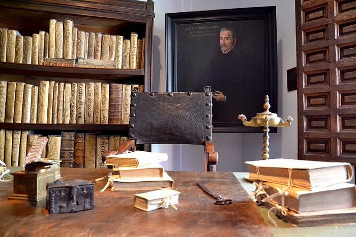 В доме-музее Лопе де Веги в Мадриде
