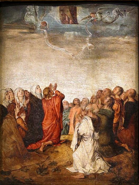 М. Зиттов. Вознесение Христа