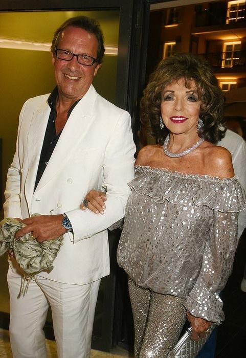 Джоан с пятым мужем, Перси Гибсоном