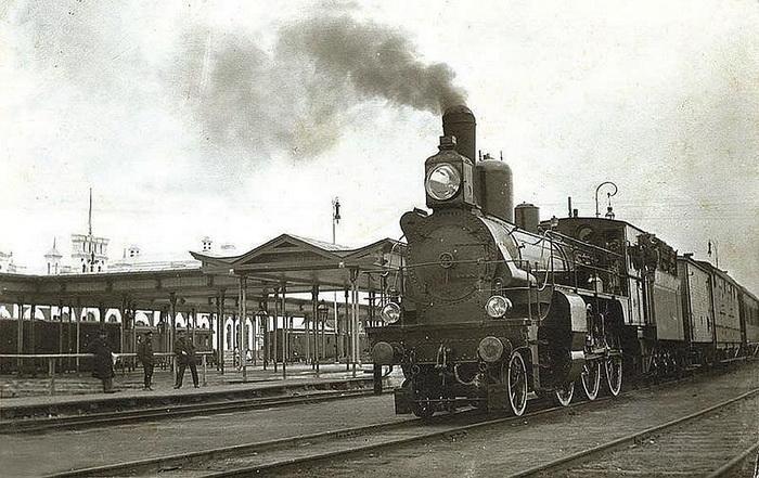 Поезд XIX века