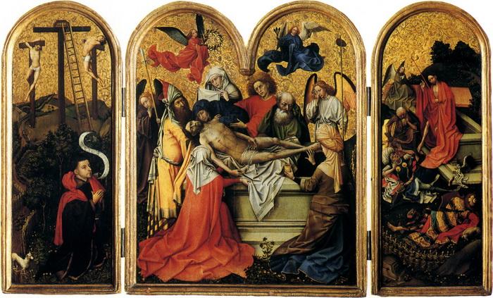 """Р. Кампен """"Погребение Христа"""