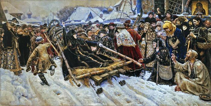 В. Суриков. Боярыня Морозова