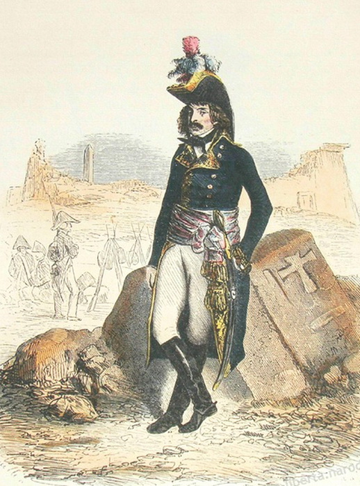 Портрет генерала Дезэ работы неизвестного художника