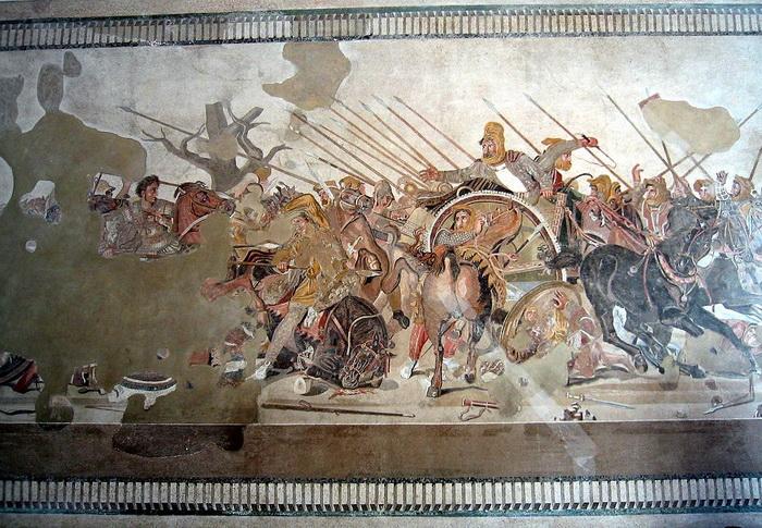 Мозаика из Помпеи: Битва при Иссе