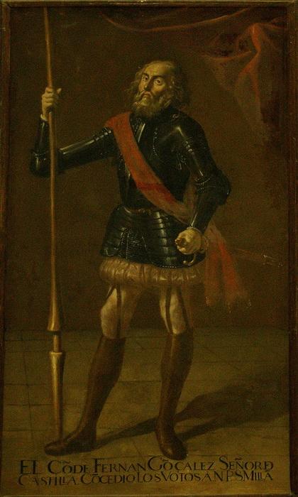 Фернан Гонсалес, герой испанских романсов