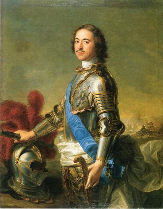 Когда родилась Елизавета, Петр I триумфально въезжал в Москву праздновать победу в Полтавской битве - но навестить новорожденную дочь ему показалось важнее