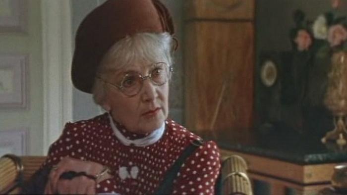 Мисс Марпл в исполнении Иты Эвер