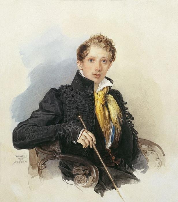 Брат Анастасии, Семен Хлюстин, был приятелем Пушкина