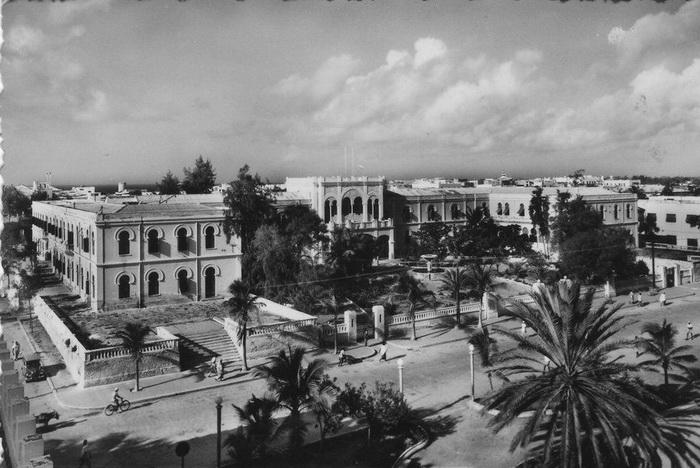 Могадишо, столица Сомали, в 1950-е годы