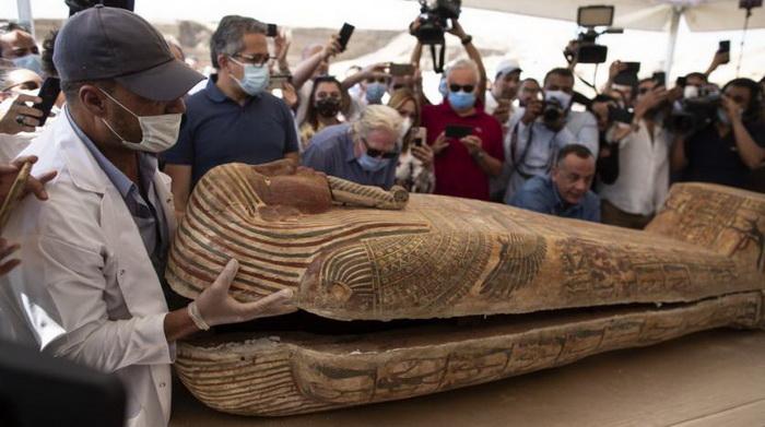 Исследования найденных саркофагов только начинаются