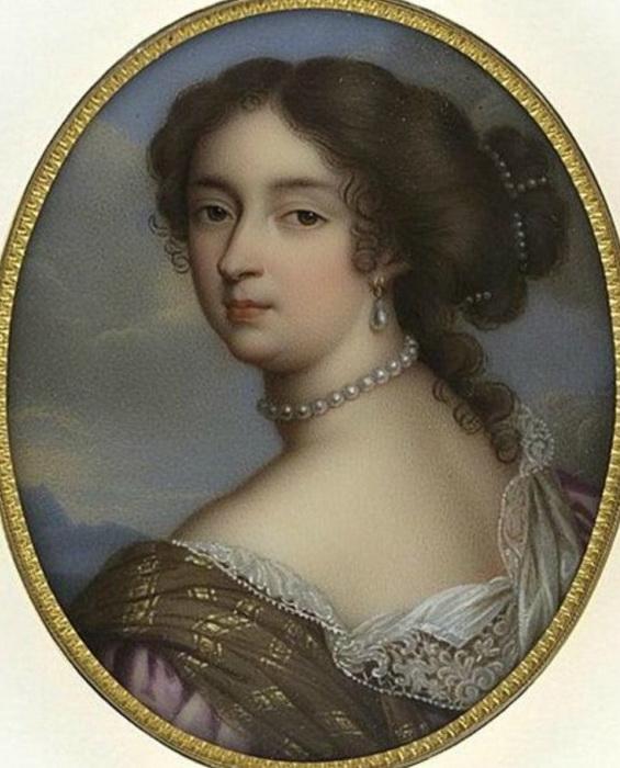 М.В. Жакото. Портрет маркизы де Ментенон