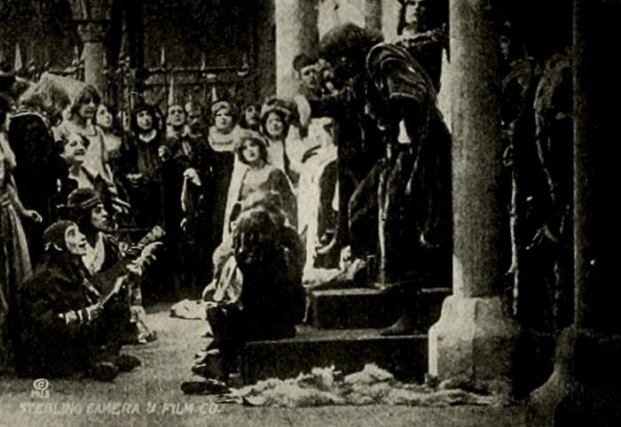 Кадр из фильма «Ричард III» 1912 г.