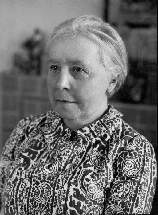 Маргарет Мюррей в 75 лет