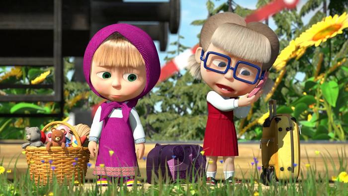 Маша и Даша, «разговаривающие» персонажи
