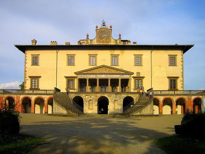 Вилла Поджо-а-Кайано, где умерли Франческо и Бьянка