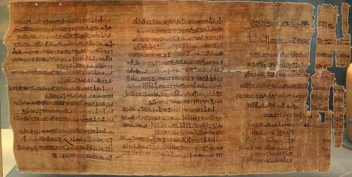 Папирус Эббота, 1100 г. до н.э.