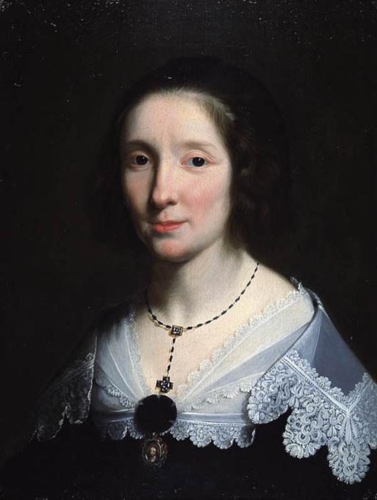 Ф. де Шампень. Портрет жены художника