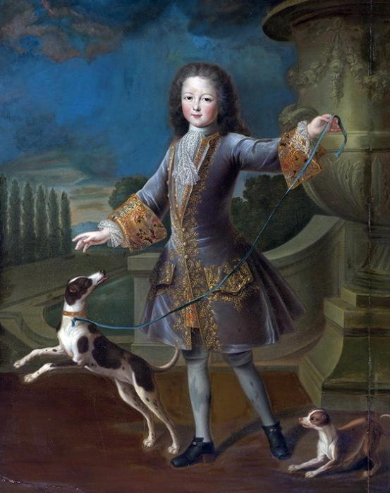 П. Гобер. Людовик XV