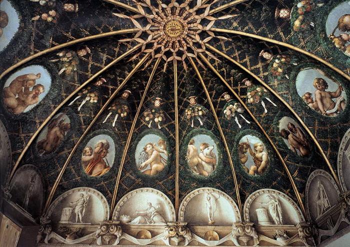 Роспись покоев монастыря Сан-Паоло