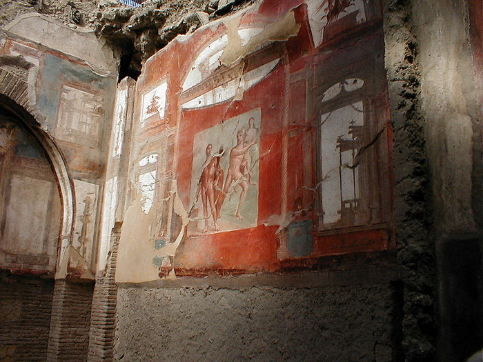 Фрески Коллегии Августа