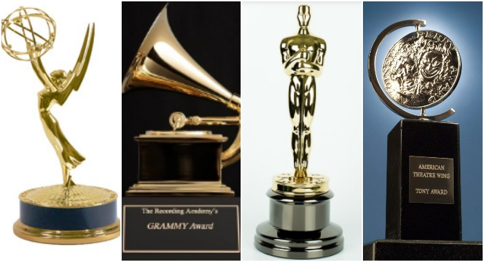Премии «Эмми», «Грэмми», «Оскаром» и «Тони»