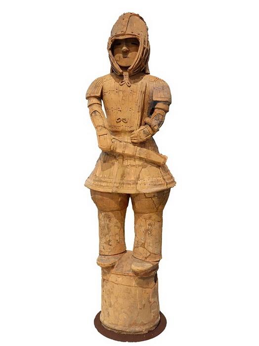 Ханива - фигура воина