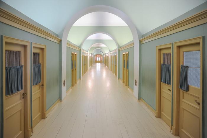 Верхний этаж и комнаты воспитанников