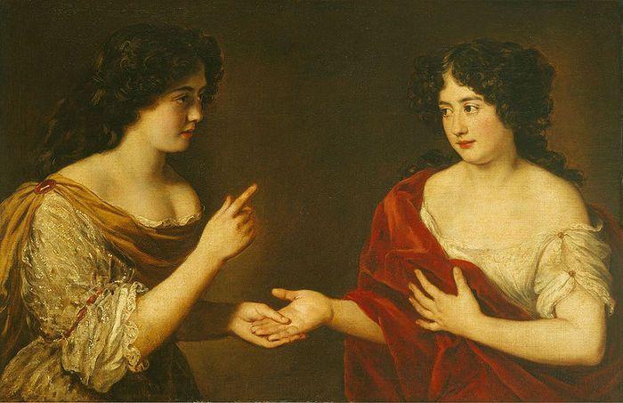 Мария и Гортензия Манчини