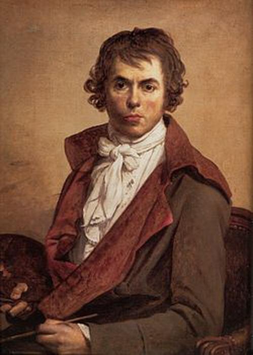 Автопортрет Жака-Луи Давида, созданный в 1794 году