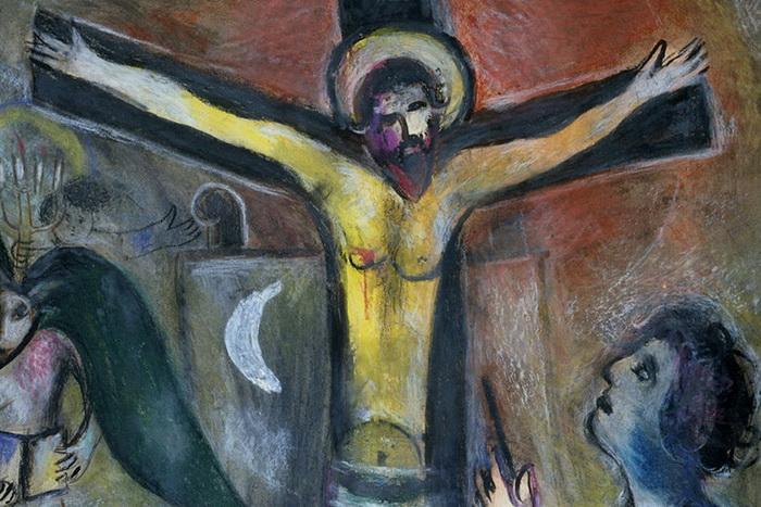 М. Шагал. «Христос и художник»