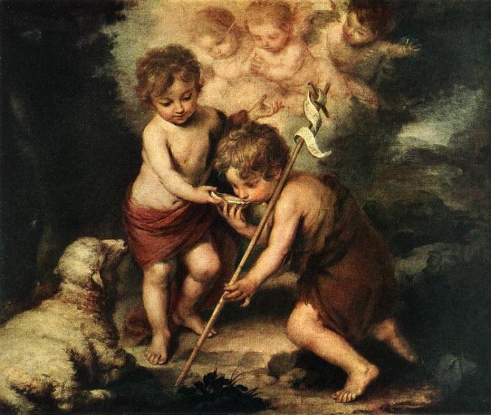 Б.Э. Мурильо. Дети с раковиной