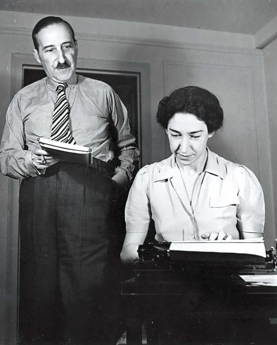 Цвейг и Шарлотта Альтманн