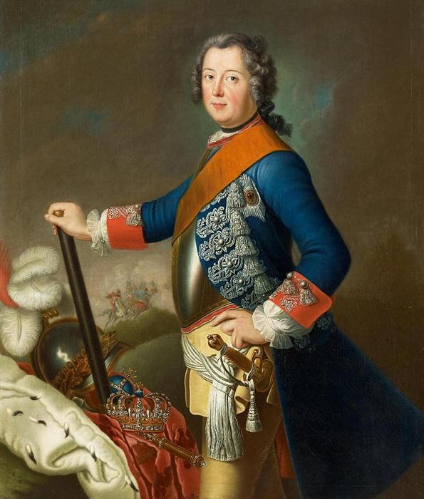 Д. Матье. Фридрих II Прусский