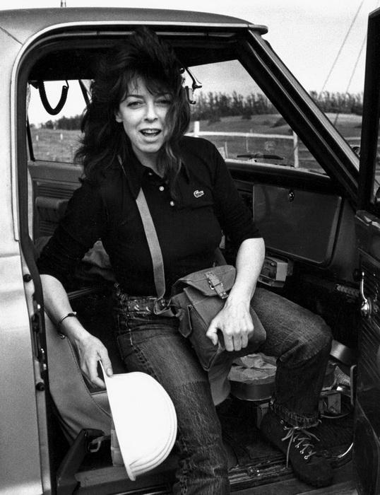 Жанна-Клод в 1976 году