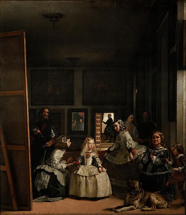 «Менины» Д. Веласкеса - картина, эффект которой создают зеркала и отражения в них