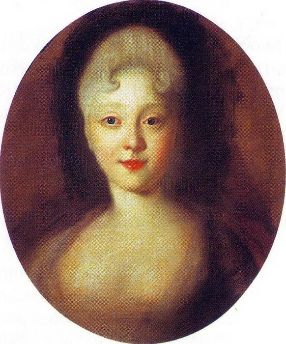 И. Никитин. Портрет юной Елизаветы