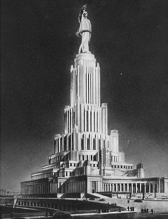 Проект Дворца Советов