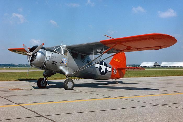 Так выглядел самолет «Норсман С-64», на котором Миллер отправился в свой последний полет