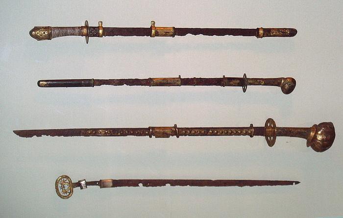 Японские мечи периода Кофун