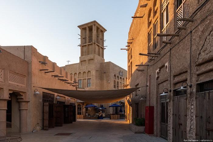 В «Старом городе» воспроизведена архитектура первой половины прошлого века