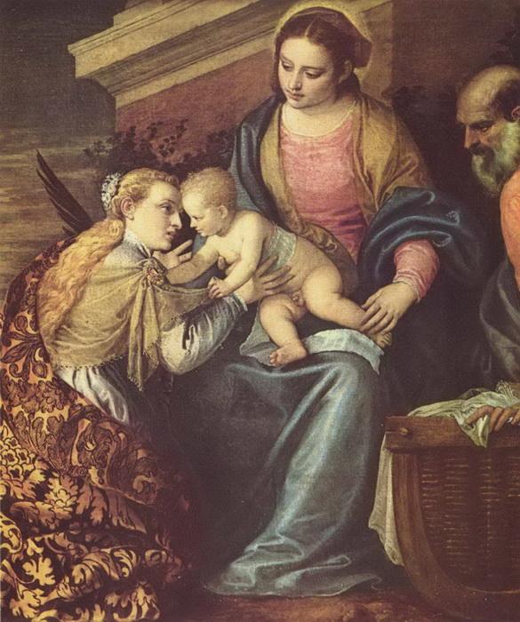 П. Веронезе. Обручение Святой Екатерины