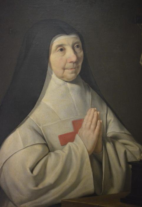 Портрет аббатисы Пор-Рояль работы Ф. де Шампеня