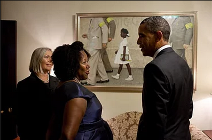 Бриджес в Белом доме