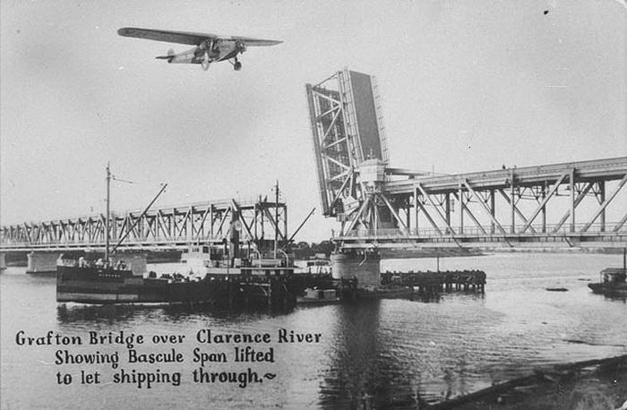 Мост через реку Кларенс, Новый Южный Уэльс, Австралия, 1932 г.