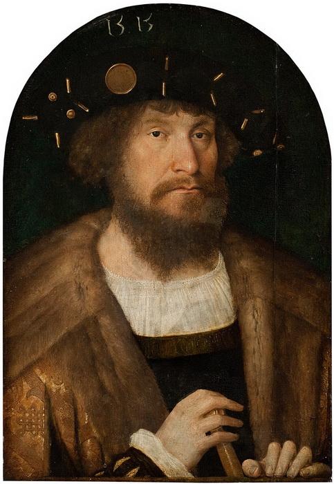 Портрет датского короля Кристиана II